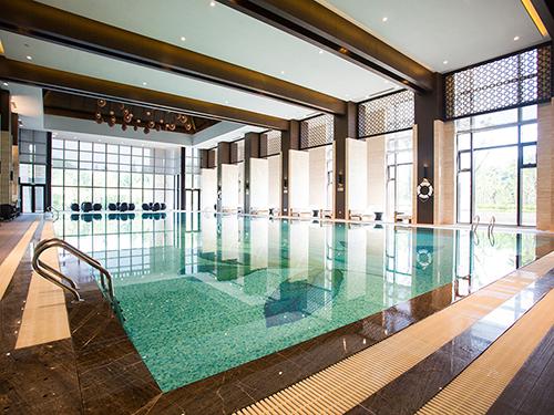 無錫太湖飯店泳池專用除濕熱泵