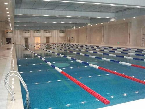 張家港城南全民健身中心游泳館