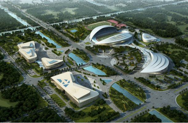 如東縣文化體育中心游泳館